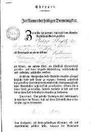 Ehepact 1837 - Heinrich Tischner