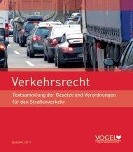 Verkehrsrecht - Verlag Heinrich Vogel
