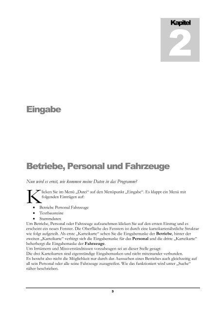Verwaltungsprogramm für Gefahrgutbeauftragte - Verlag Heinrich ...