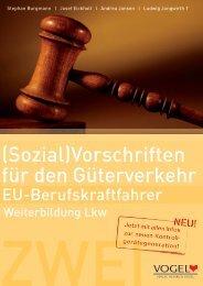 (Sozial)Vorschriften für den Güterverkehr - Verlag Heinrich Vogel