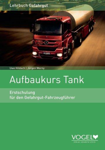 Aufbaukurs Tank - Verlag Heinrich Vogel