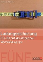 Ladungssicherung - Verlag Heinrich Vogel