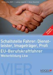 Schaltstelle Fahrer - Verlag Heinrich Vogel