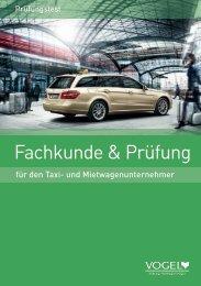 Fachkunde & Prüfung - Verlag Heinrich Vogel