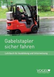 Gabelstapler sicher fahren - Verlag Heinrich Vogel