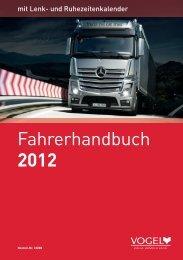 Fahrerhandbuch 2012 - Verlag Heinrich Vogel