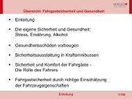 Die eigene Sicherheit und Gesundheit - Verlag Heinrich Vogel