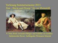 """Vom """"Sturm und Drang"""" zur Romantik 9 - Heinrich Detering"""