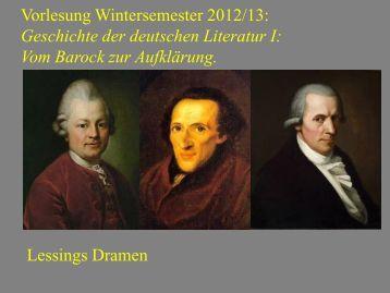 Vom Barock zur Aufklärung XII - Heinrich Detering