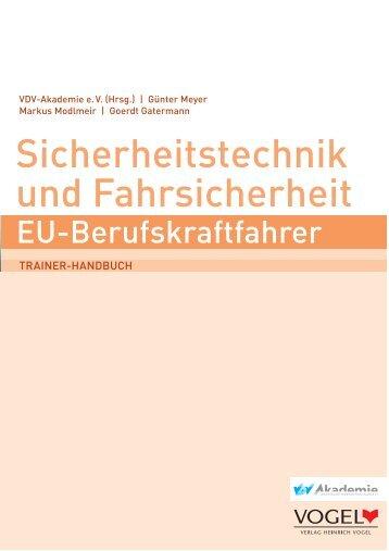Leseprobe als PDF 1 - Verlag Heinrich Vogel