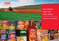 New Zealand: Better with Heinz Wattie's