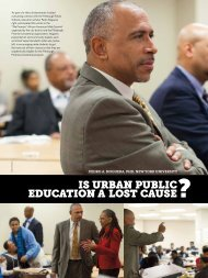 is urban public education a lost cause - Heinz Endowments