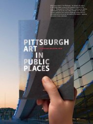 """Artist Jenny Holzer's """"For Pittsburgh,"""" her largest LED project in the ..."""