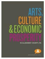 Arts, Culture & Economic Prosperity