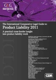 Product Liability 2011 - Heisse Kursawe Eversheds