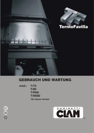 Bedienungsanleitung TERMOFAVILLA - Der Heizungs-Discount