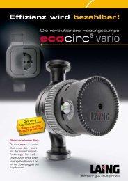ecocirc® vario - Der Heizungs-Discount