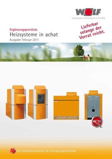 Heizsysteme in achat - Der Heizungs-Discount