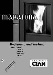 Bedienungsanleitung MARATONA-Pelletöfen - Der Heizungs ...
