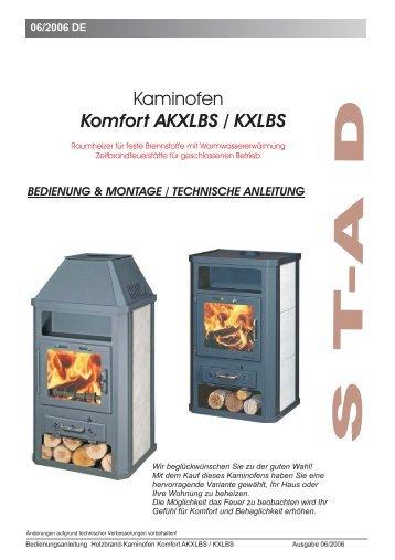 Bedienungsanleitung Komfort KXLBS - Der Heizungs-Discount