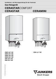 Cerastar-Ceramini-Installation - Heizung und Solar zu ...
