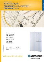 CerapurSolar-Comfort-Planungsunterlagen - Heizung und Solar zu ...