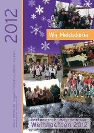 Weihnachten 2012 - Heldsdorf