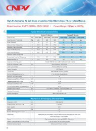 CNPV-280M to CNPV-305M / Power - Helion Solar AG