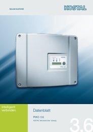 Datenblatt Piko 3.6 - Helion Solar AG