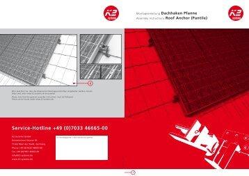 Montageanleitung - Helion Solar AG
