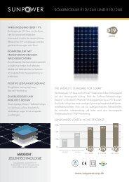 SunPower E19 240