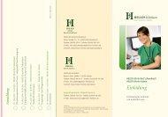 Programm - HELIOS Kliniken GmbH
