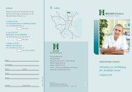 Weitere Informationen... - HELIOS Kliniken GmbH