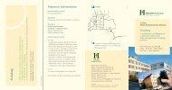 Informationsflyer - HELIOS Kliniken GmbH