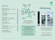 Einladung - HELIOS Kliniken GmbH