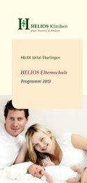 HELIOS Elternschule - HELIOS Kliniken GmbH