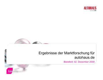 ESA-Ergebnisse 2010 Autohaus.de