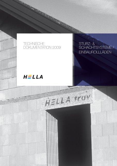 TECHNISCHE DOKUMENTATION 2009 STURZ ... - Hella Specht