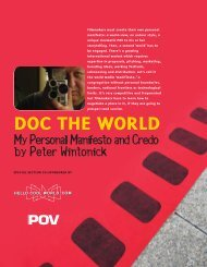A documentary manifesto by Peter Wintonick - HelloCoolWorld.com