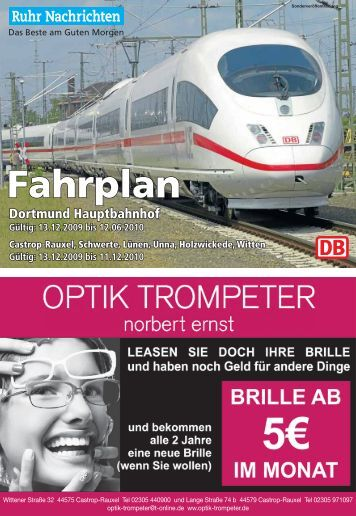 Dortmund Hauptbahnhof - Ruhr Nachrichten
