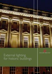 External Lighting for Historic Buildings - HELM