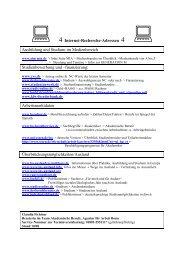 Linkliste Ausbildung - Beruf (pdf) - Helmholtz Gymnasium Bonn