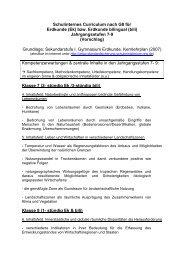 Schulinternes Curriculum nach G8 für Erdkunde - Helmholtz ...
