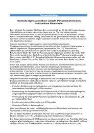 Informationen hier in der Pressemitteilung... - Helmholtz Gymnasium ...
