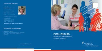 Flyer with additional information about the family office for download