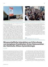 NL 3_05.qxd - Helmholtz-Gemeinschaft Deutscher Forschungszentren