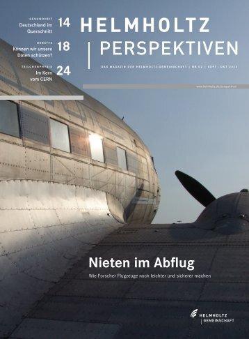 das PDF - Helmholtz-Gemeinschaft