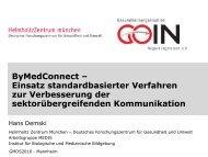 ByMedConnect - Helmholtz Zentrum München