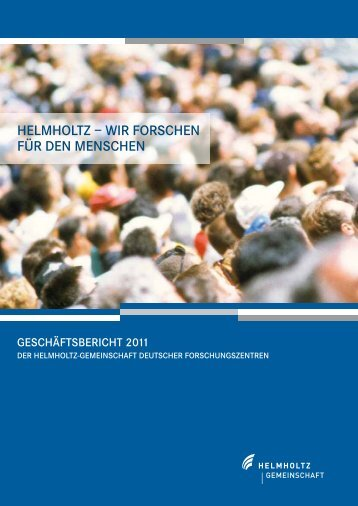 Download PDF - Helmholtz-Gemeinschaft Deutscher ...