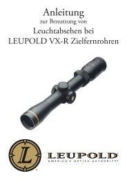LEUPOLD VX-R Leuchtabsehen - bei der Helmut Hofmann GmbH